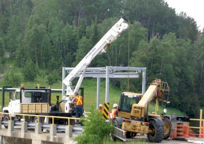 Ivanhoe dam build